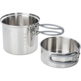 Esbit Stainless Steel Pot 1,0l silver